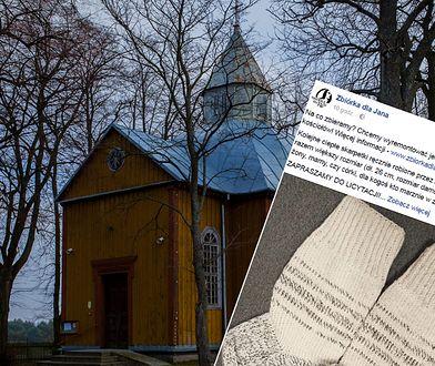 Kościółek w Starym Bublu wymaga remontu. Ksiądz wpadł na nietypowy pomysł