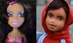 Zmienia wymalowane lalki w inspirujące kobiety