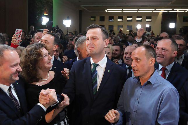 Wieczór wyborczy Koalicji Polskiej.