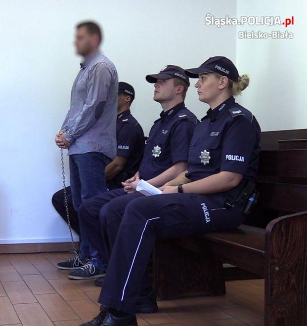 Podejrzany Piotr Sz. przyznał się do zabójstwa żony