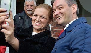 Lewica musi się dogadać / Na zdj. Barbara Nowacka i Robert Biedroń