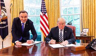 Roman Giertych ma rady dla Andrzeja Dudy, jak wytłumaczyć zdjęcie z Donaldem Trumpem
