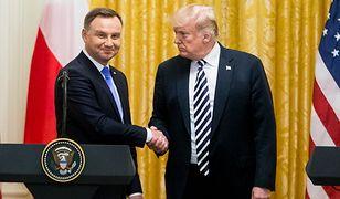 Donald Trump przyjął Andrzeja Dudę w Białym Domu