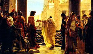 Piłat i Jezus na obrazie Antonio Ciseri