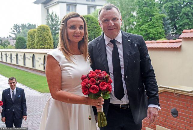 Jacek i Joanna Kurscy wzięli drugi ślub kościelny