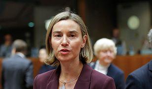 Szefowa unijnej dyplomacji Federica Mogherini nie stawi się na konferencji bliskowschodniej