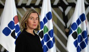 Federica Mogherini, przedstawiciel UE ds. zagranicznych