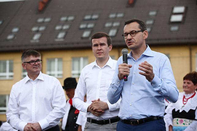 Mateusz Morawiecki na pikniku PiS: Przestawiliśmy wajchę w kierunku ludzi