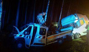 Śląsk. Tragedia w Kobiórze. W wypadku na DK 1 jedna osoba zginęła, trzy zostały ranne.