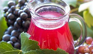 Kompot z winogron - dla zdrowia, energii i witalności