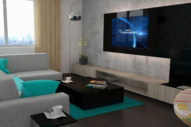Zabudowa telewizora w pokoju. Jak zamontować go na ścianie?