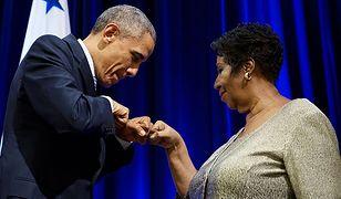 Barack Obama i Aretha Franklin