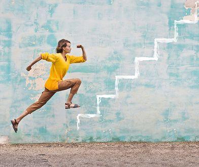 Chodzenie po schodach ułatwia utratę zbędnych kilogramów