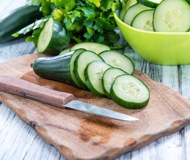 Ogórki to niskokaloryczne warzywa, które są idealnym składnikiem diet odchudzających.