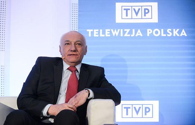 Janusz Daszczyński żegna się z pracownikami TVP S.A. słowami Churchilla