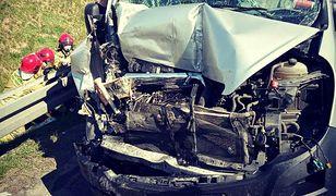 Poważny wypadek na S3. Sześć osób rannych