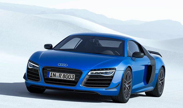 Audi R8 LMX: pierwszy na świecie samochód z laserowymi światłami