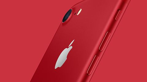 Czerwony iPhone 7 jeszcze piękniejszy. iPhone SE z większą pamięcią
