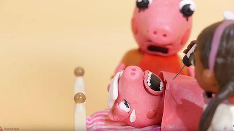 Bajki znów są mroczne: świnka Peppa przerazi dzieci w YouTube Kids