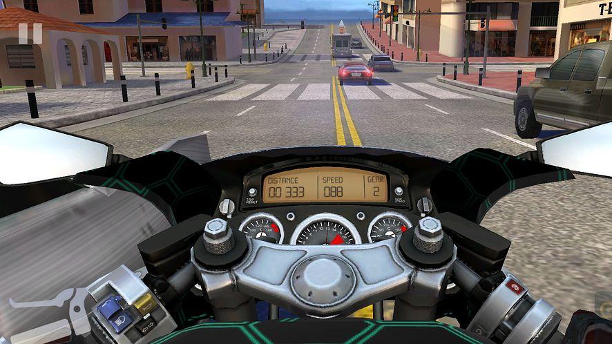 Moto Rider GO: Highway Traffic na weekend – pieniądze leżąna ulicy