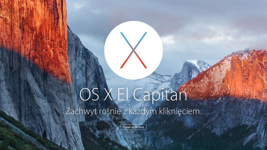 OS X El Capitan na ostatniej prostej