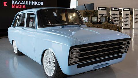 Rosyjski Kałasznikow konkurencją dla Tesli? Oto pierwszy elektryczny samochód