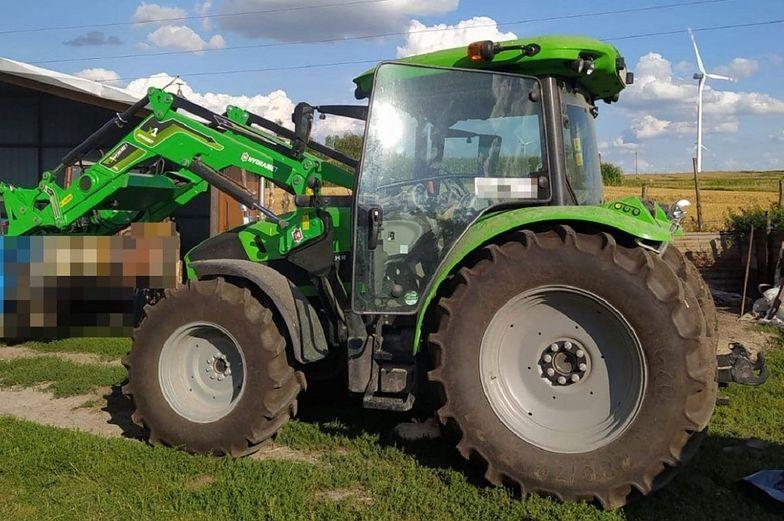 82-latek potrącił żonę traktorem. Kobieta nie żyje
