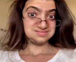Na TikToku pokazała spektakularną przemianę. Nałożyła tylko makijaż
