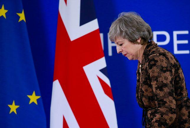 Premier Theresa May po szczycie UE w Brukseli