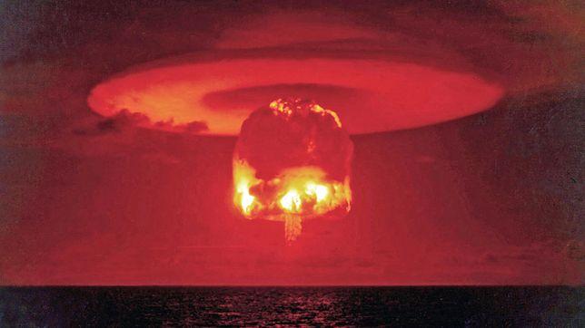 Test atomowy przeprowadzony przez USA.