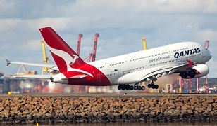 Samolot linii lotniczej Qantas