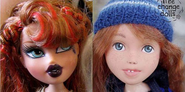 Sonia Singh zmywa lalkom makijaże, by wyglądały bardziej naturalnie