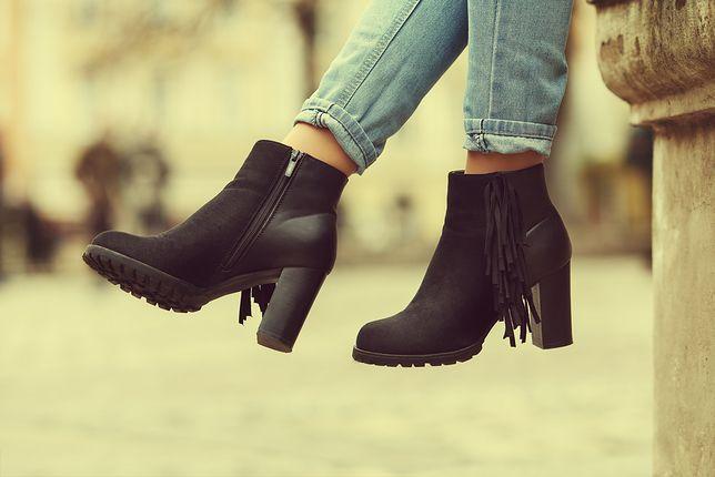 Buty z nieco wyższą cholewką to idealny wybór na jesień