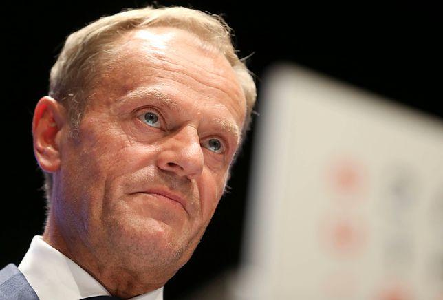 Donald Tusk był stanowczy wobec premier Wielkiej Brytanii