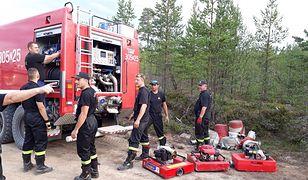 To już pewne. Polscy strażacy wrócą ze Szwecji po 14 dniach misji