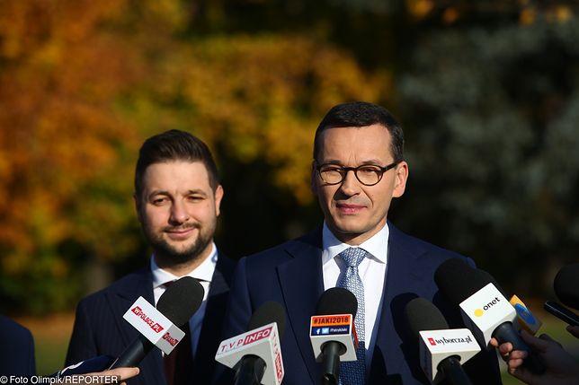 Mateusz Morawiecki i Patryk Jaki