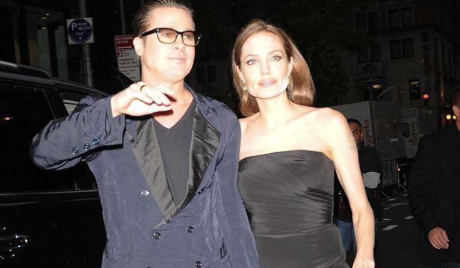 Brad Pitt i Angelina Jolie przyłapani razem
