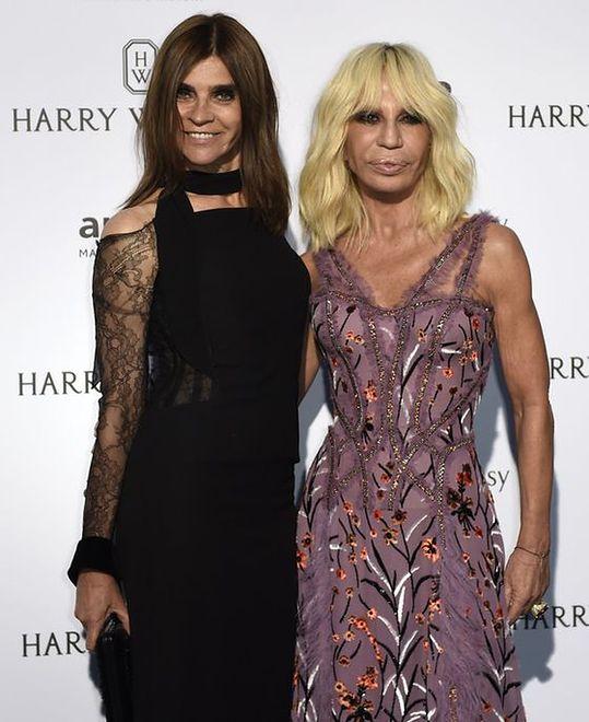 Carine Roitfeld, Donatella Versace