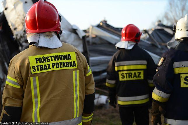Na miejscu wypadku pracują służby