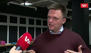 """Szymon Hołownia o starcie w wyborach prezydenckich 2020. """"Mam dużo rzeczy do zrobienia"""""""