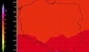 Pogoda na czerwiec 2019. Oprócz upałów grozi nam wysokie i bardzo wysokie promieniowanie UV.
