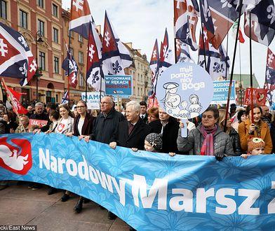 Organizator Narodowego Marszu Życia skarży się na TVP. Poszło o wystąpienie Jarosława Kaczyńskiego