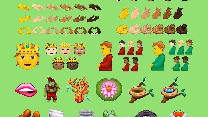 Nowe emoji w Unicode 14