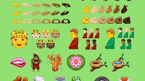 37 nowych emoji w 2022 roku. Wśród nich mężczyzna w ciąży