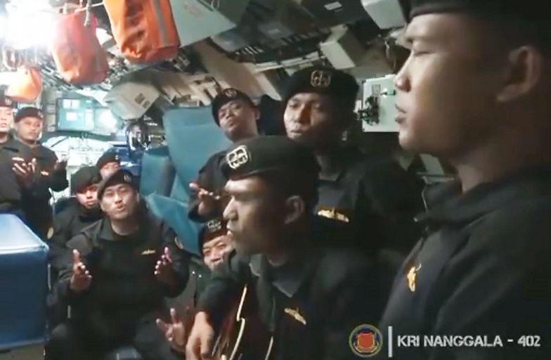 Ostatnie wideo. Załoga okrętu podwodnego KRI Nanggala-402 pożegnała się piosenką