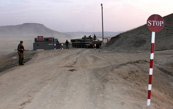Żołnierze w Dagestanie