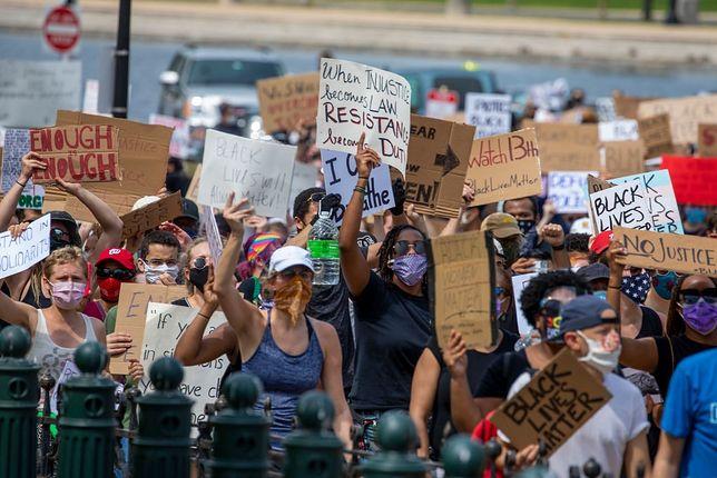 Protesty w USA nie słabną