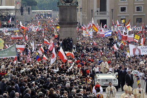 Policzyli Polaków na beatyfikacji Jana Pawła II
