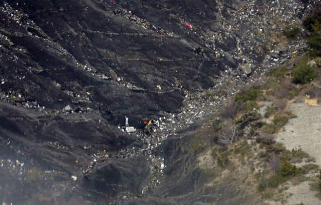 Miejsce katastrofy Airbusa A320
