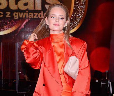 Olga Kalicka zawsze dba o swój wygląd